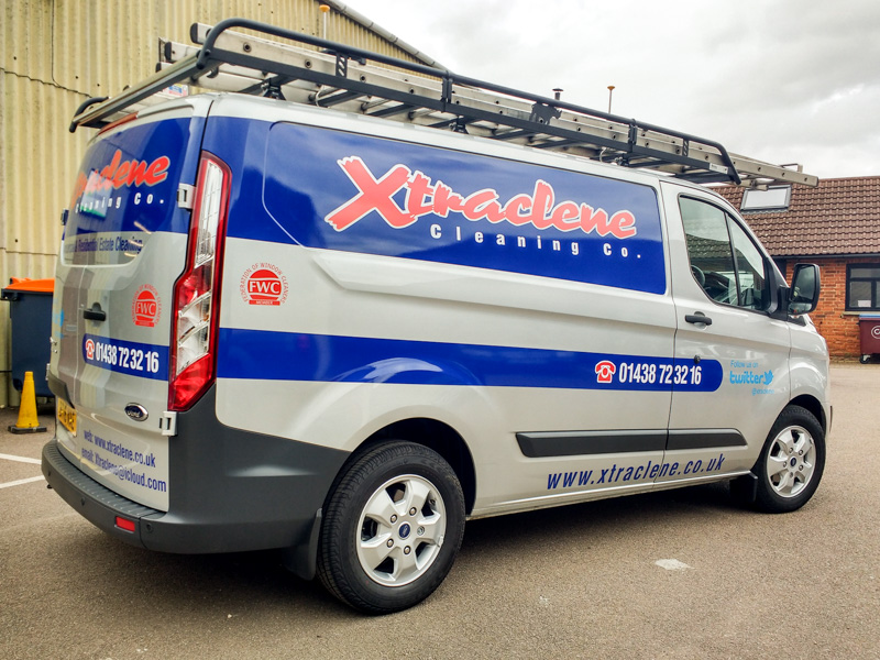 Xtraclene Vehicle Livery