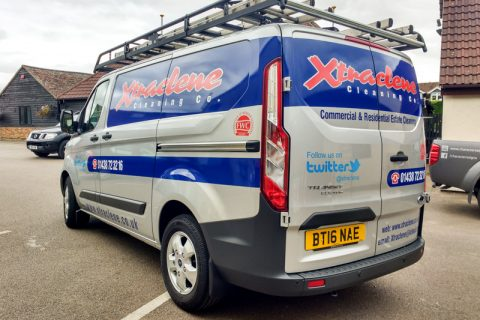 Xtraclene – Vehicle Livery