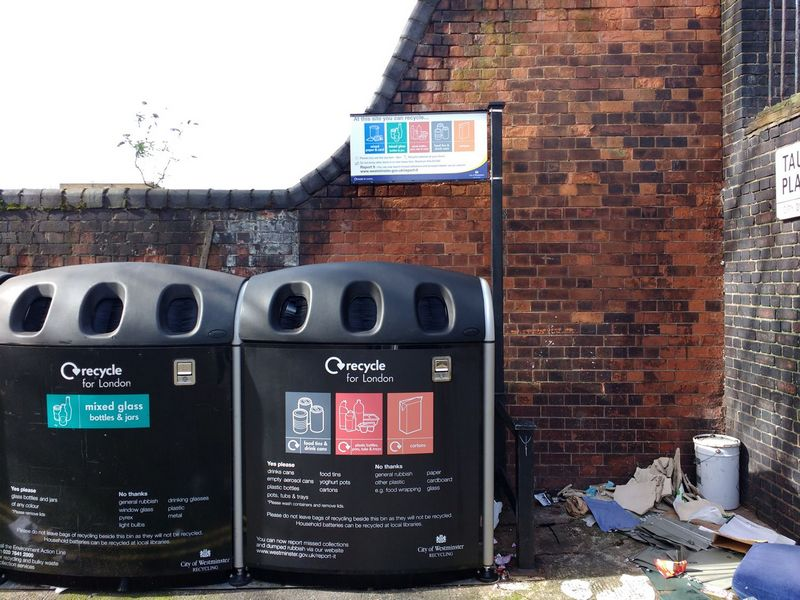 City of Westminster – Recycling Information Signs